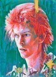 David Bowie, Space Oddity by Zinsky -  sized 35x48 inches. Available from Whitewall Galleries